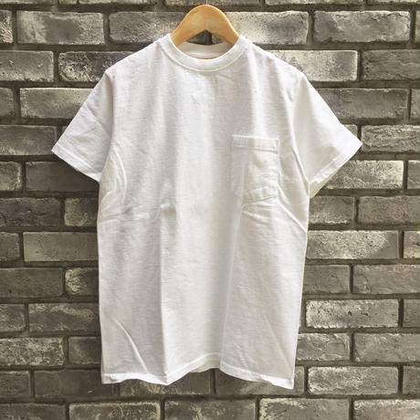 【Goodwear】 S/S Pocket Tee White グッドウエア
