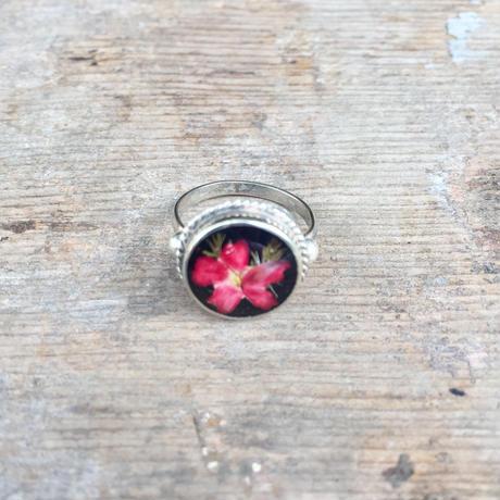 【GUSTAVO】 Flower Wreath Ring