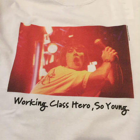 "【COMMON EDUCATION】 ""So Young"" LS Tee White Kenji Kubo"