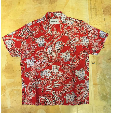 【NOMA t.d.】Summer Shirt-Wanderer Paisley