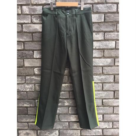 【NOMA t.d.】Side Line Trousers ノーマ サイドライン トラウザーズ  D.Green