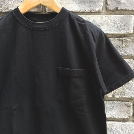 【Goodwear】 S/S Pocket Tee Black グッドウエア