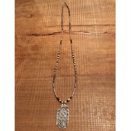【ERICKA NICHOLAS BEGAY】タイプC 0.9FLSTTHP6 pendant top w beads necklaces