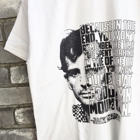 【Teesquare 1st】 JACK KEROUAC BECAUSE IN THE END Tee