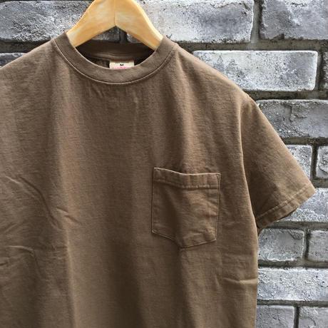 【Goodwear】 S/S Pocket Tee Brown グッドウエア