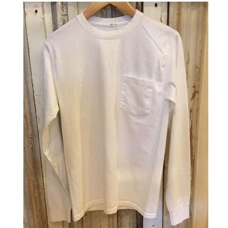 HANES  6.1oz Longsleeve Pocket T-shirts