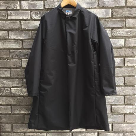 【Powderhorn Mountaineering 】 3Layered Nylon M.Coat Black パウダーフォーン オーバーコート 黒