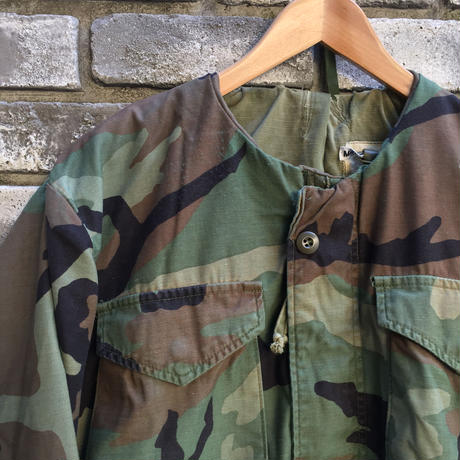 【sunny side up】 Remake M-65 Short Camo Jacket size2 サニーサイドアップ リメイク ミリタリー