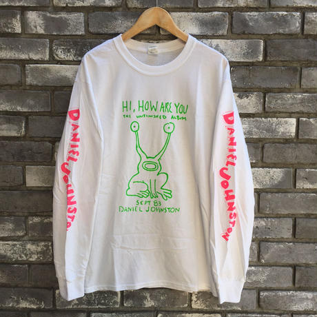 "【DANIEL JOHNSTON】""HI,HOW ARE YOU"" LS TEEダニエルジョンストン"