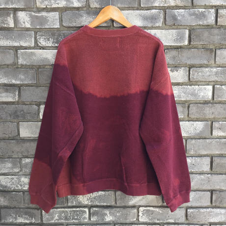 【NOMA t.d.】 Breach Twist Sweat Burgundy