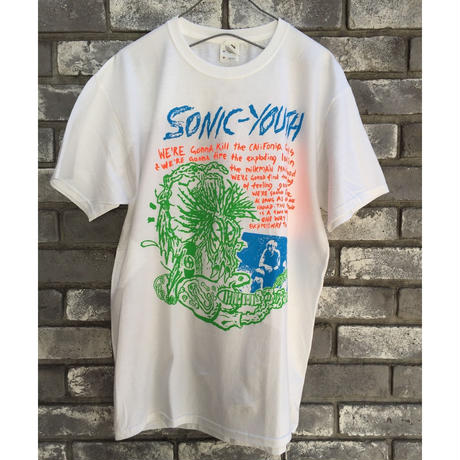 Music TEE【SONIC YOUTH】 SAVAGE ソニックユース