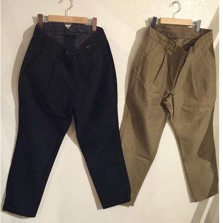 【NOMA t.d.】Out Seam Trousers cotton