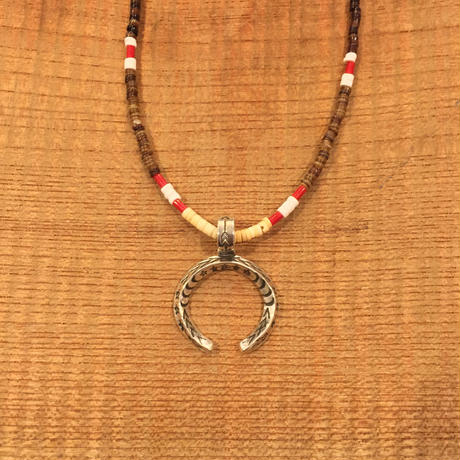 【ERICKA NICHOLAS BEGAY】タイプD 2.5TASNJ3.7 pendant top w beads necklaces