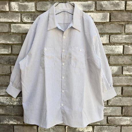 【RED KAP】 Women's Industrial Stripe Work Shirts レッドキャップ レディース ワークシャツ
