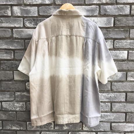 【NOMA t.d.】 3dye SS Shirt -Nature Gray / Beige / Ortmeal ノーマ スリーダイ シャツ