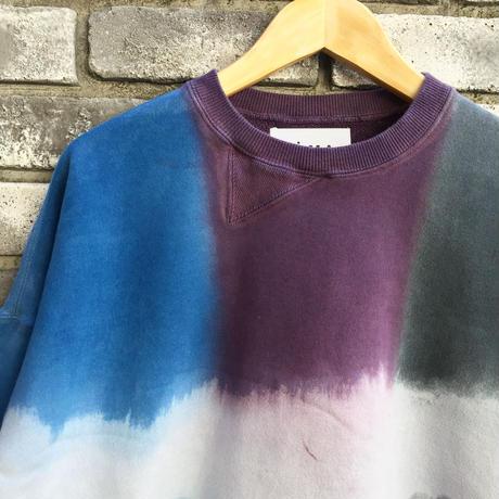 【NOMA t.d.】 Twist 3dye Sweat-Nature Blue / Purple /Black ノーマ ツイスト スリーダイ スウェット