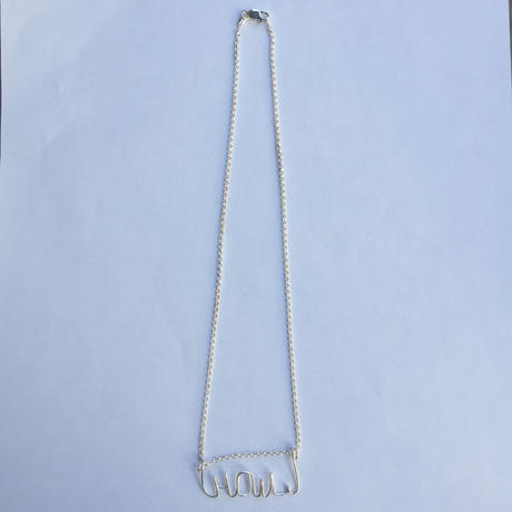 """【Kaystyle Jewelry for LILY】 """"HOWL"""" Necklace"""