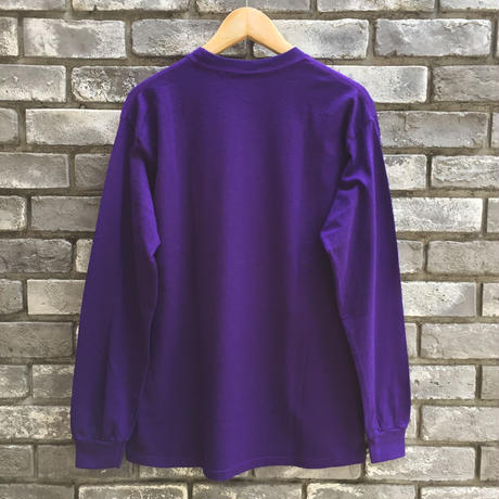 "【COMMON EDUCATION】 ""So Young"" LS Tee Purple Kenji Kubo"