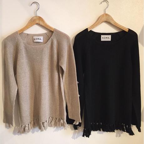 【NOMA t.d.】Fringe Knit