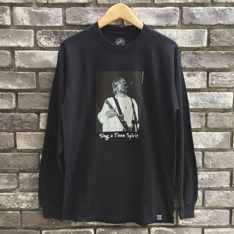 "【COMMON EDUCATION】 ""Sing a Teen Spirit"" LS Tee Kenji Kubo"
