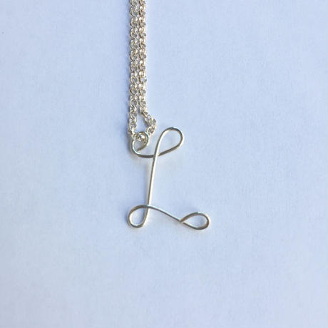 """【Kaystyle Jewelry for LILY】 """"L"""" Necklace"""