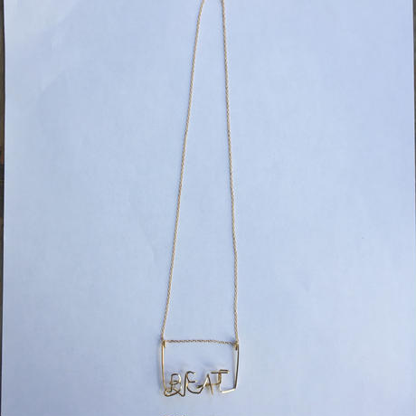 """【Kaystyle Jewelry for LILY】 """"BEAT"""" Necklace"""