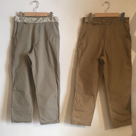 【TALKING ABOUT THE ABSTRACTION】Velcro Trousers