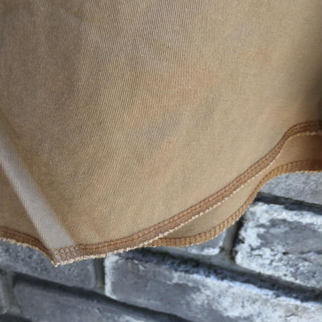 【Wrangler】Basics Twill Shirts Vintage Wash Tabaco ラングラー ツイル シャツ