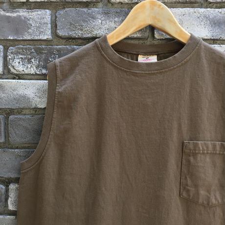 【Goodwear】 Sleeveless Onepiece Long GreyshBrown ノースリーブ ワンピース
