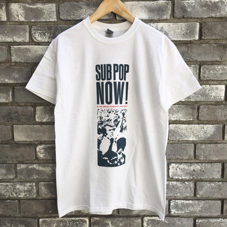 "【SUB POP】""SUB POP NOW"" Print S/S Teeサブポップ"