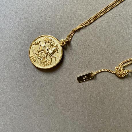 【silver925】coin necklace