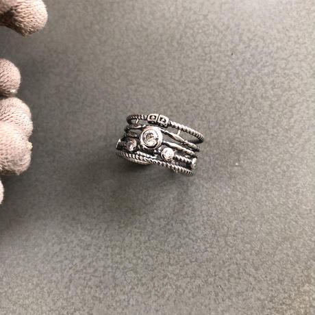 silver925  linestonering