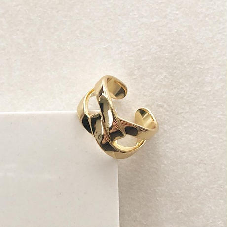 silver925 goldcoating ring