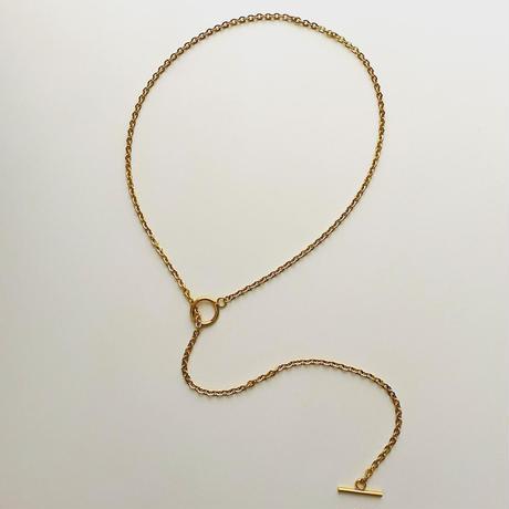 SUS316L mantel chain necklace 60