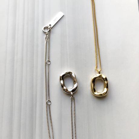 【silver925 】circle necklace
