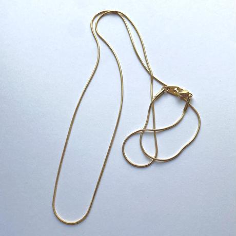 SUS316L chain necklace 60 B