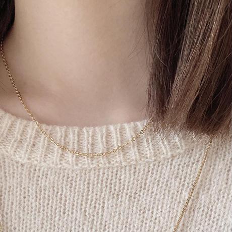 SUS316L chain necklace