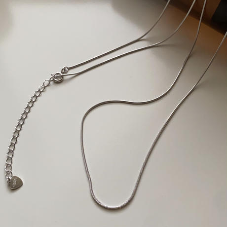 【silver925 】snake  chain necklace 08
