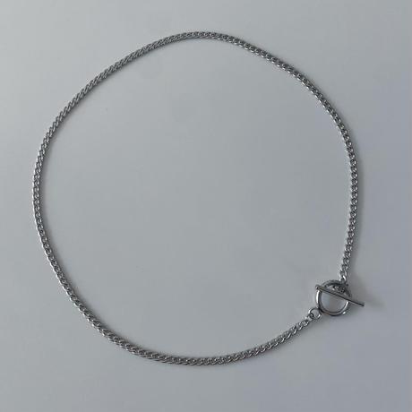 SUS316L mantel chain necklace