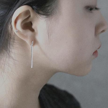 【silver925】stick pierce