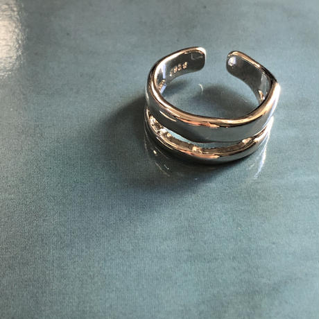 silver925 plating ring  002