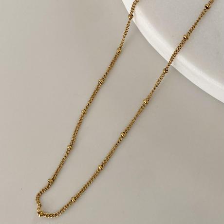 SUS316L chain necklace 45