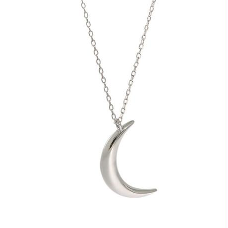 【silver925 】crescent moon necklace