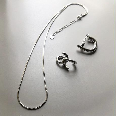 【silver925 】snake chain necklace 10