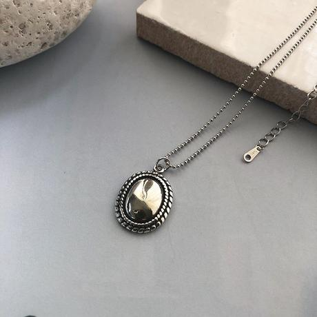 【silver925 】ovaltop necklace