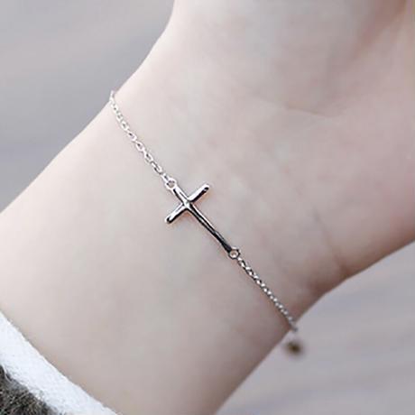 【silver925 】cross bracelet