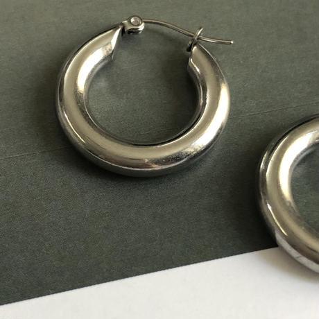 SUS316L chunky hoop pierce   020