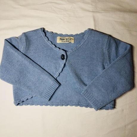 【Malvi & Co】ボレロ ブルー m-216