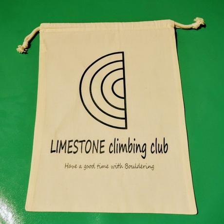 【LIMESTONE 】ロゴ巾着