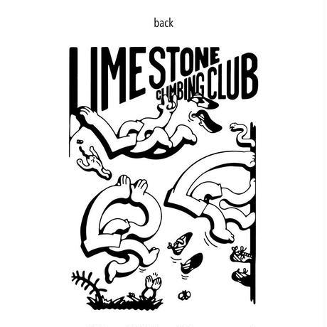 【LIMESTONE&Handa Made】FUN CLIMBINGコットンマルシェバック Lサイズ